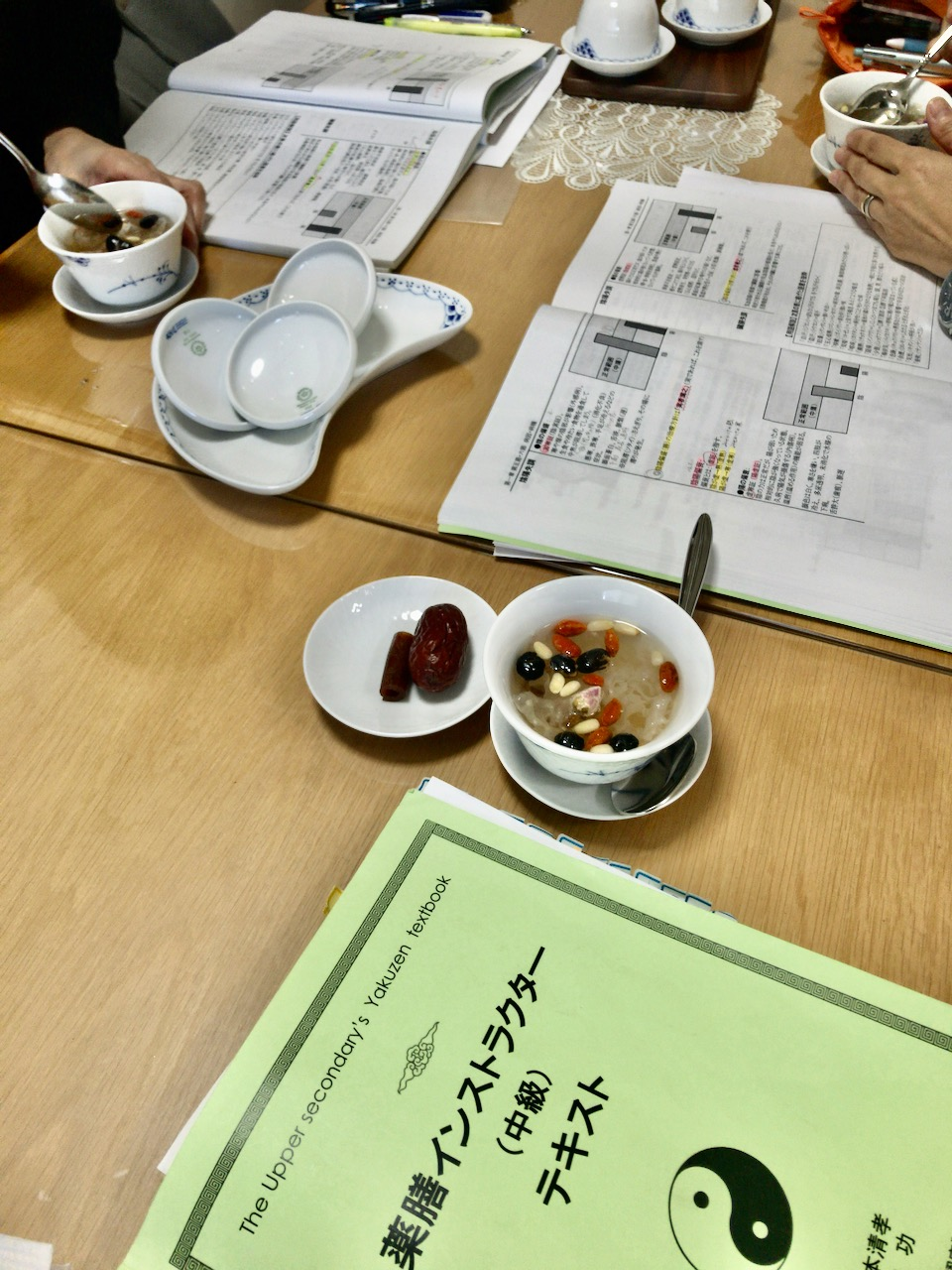薬膳と発酵食の教室 白檀